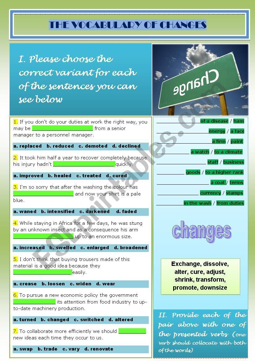vocabulary_changes worksheet