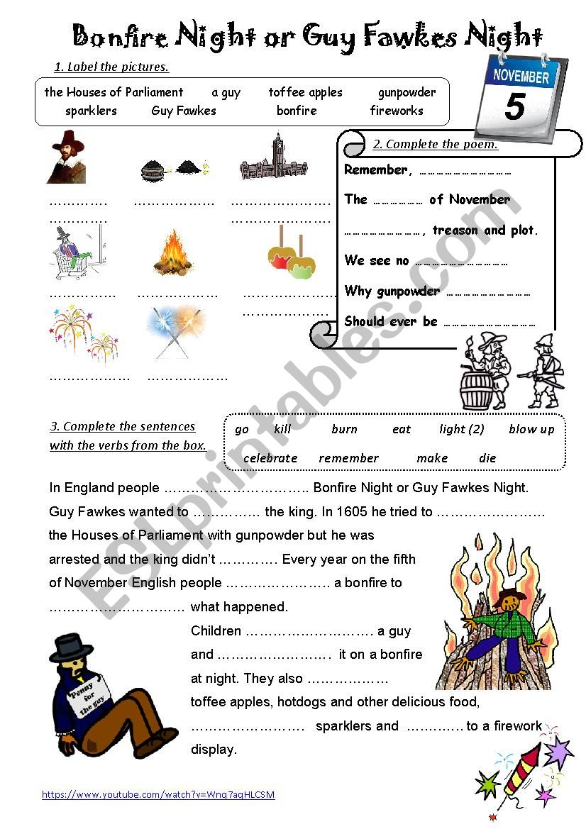 This is Britain - Bonfire Night video-based activity