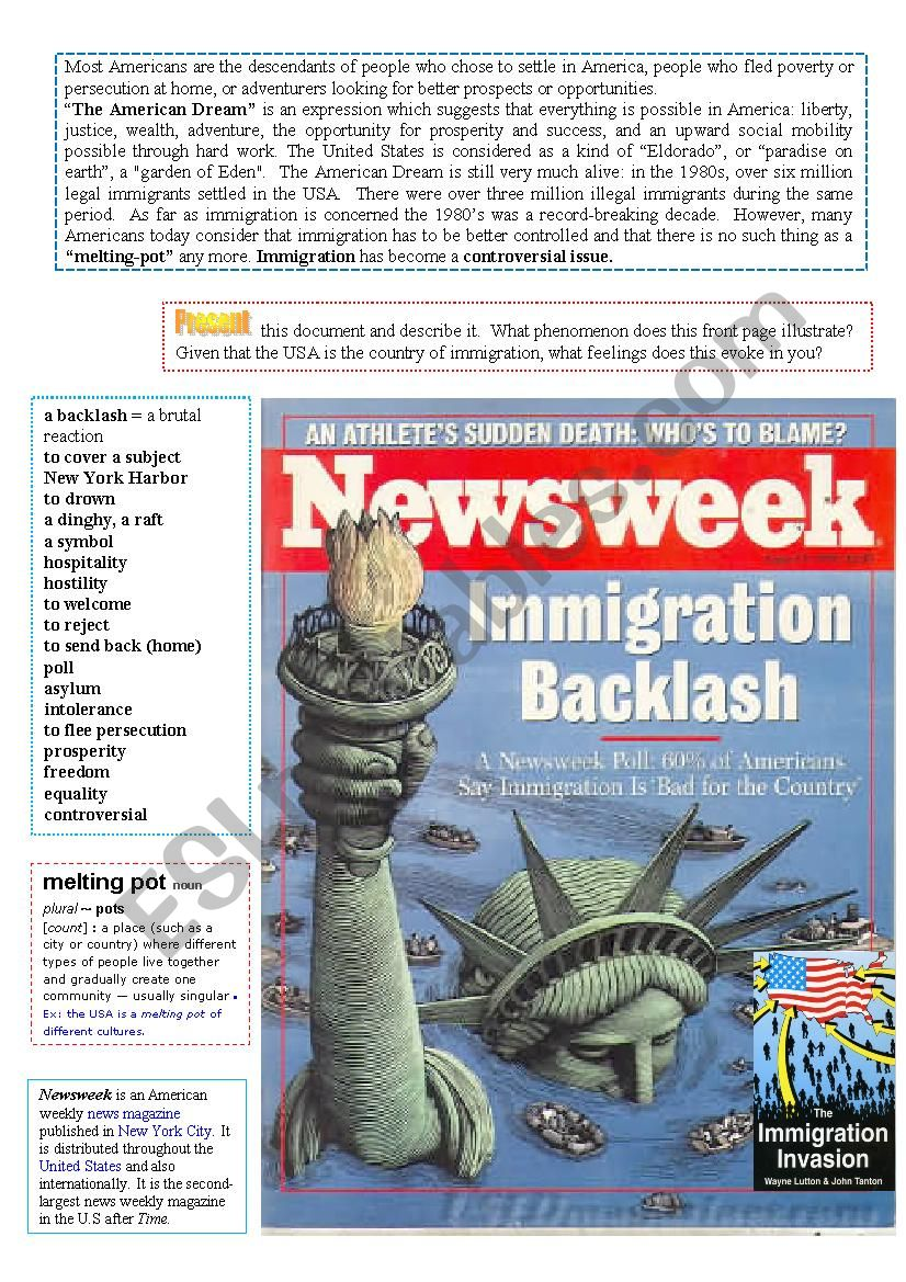 Picure-based analysis (Immigration Backlash)  6/…