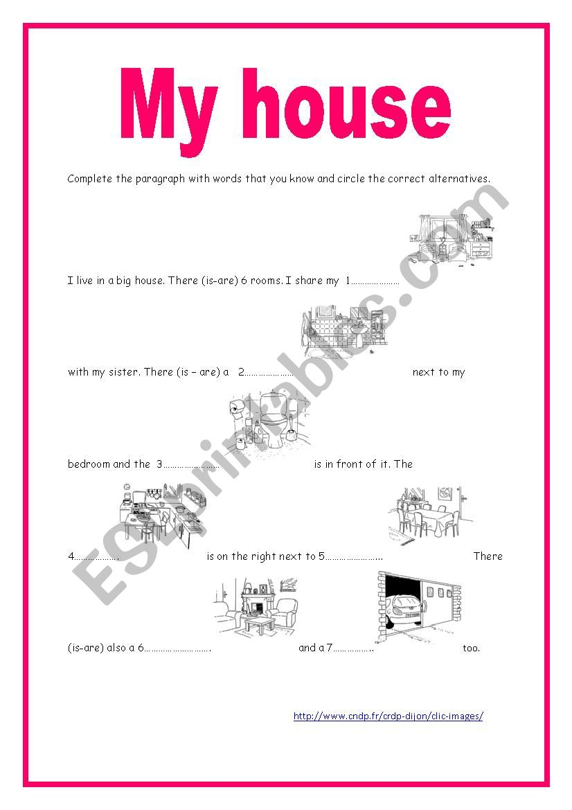 Module 3 Section 1 Aly´s house (1): writing activity