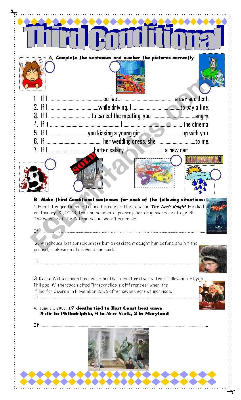 Third Conditional worksheet
