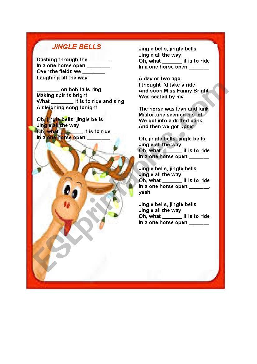 Jingle bells, jingle bells (jingle all the way)