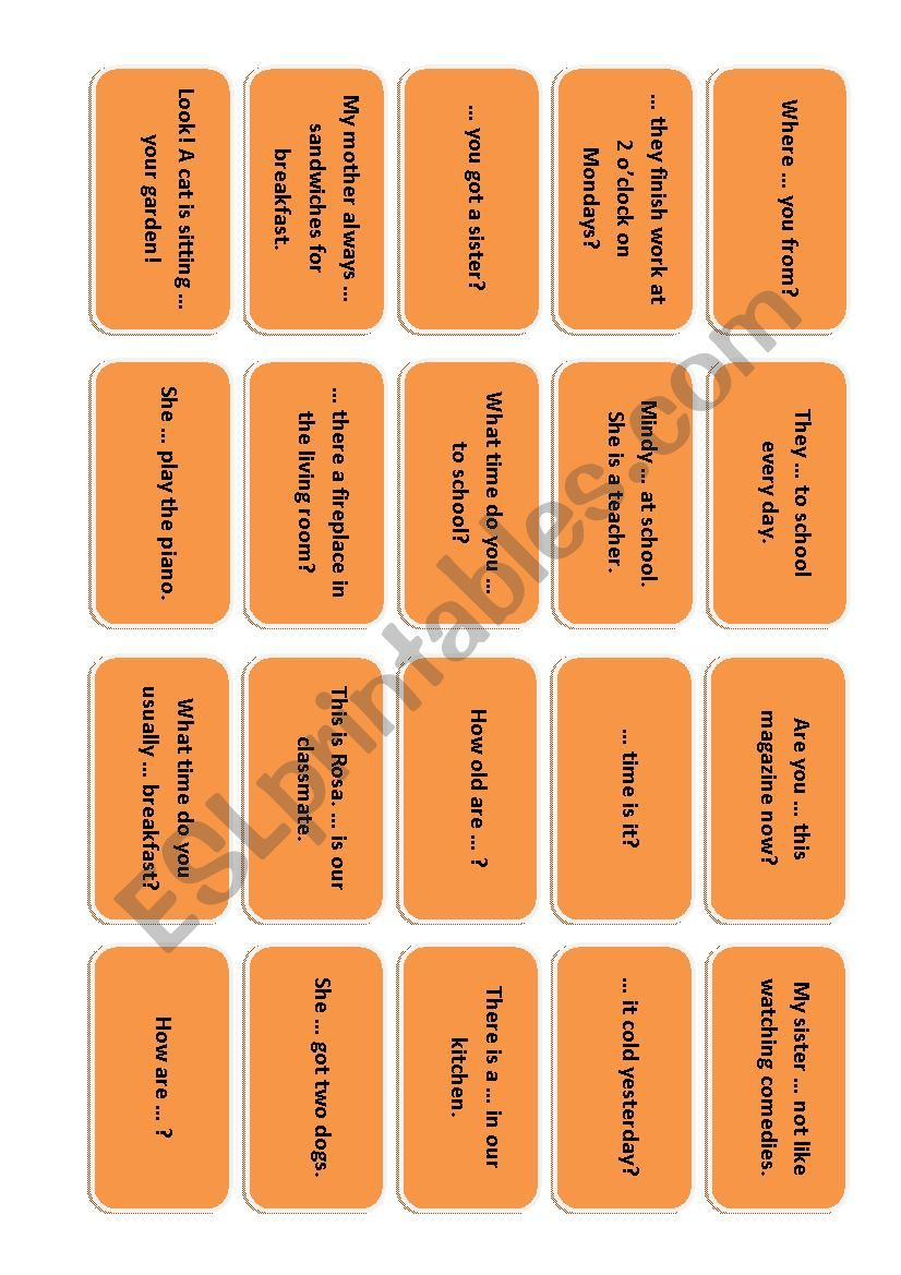 ReviGame revision boardgame cards