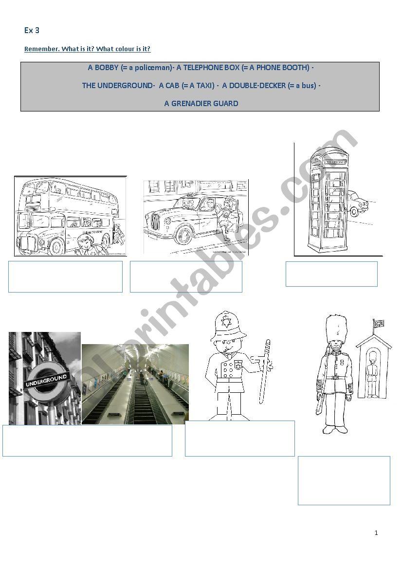 PADDINGTON (film) PART4 worksheet