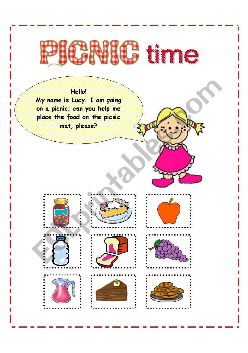 Lucy´s Picnic / Picnic Time activity