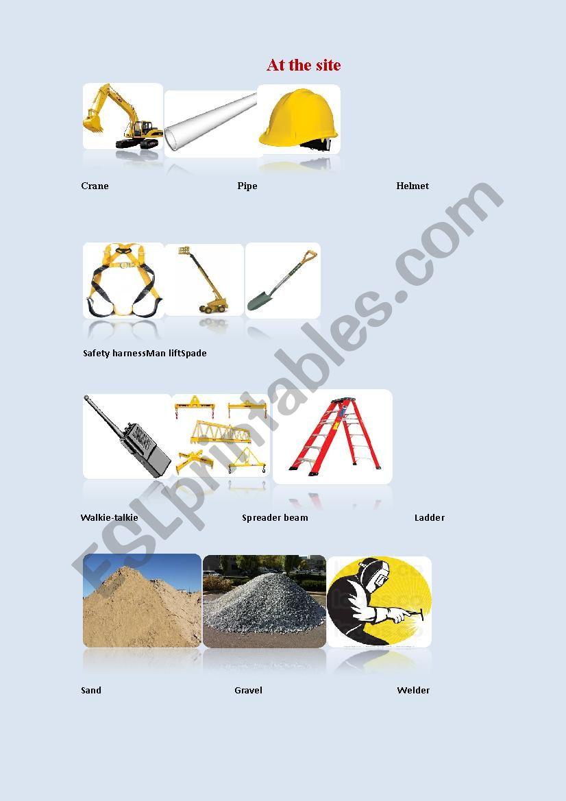 Construction worksheet