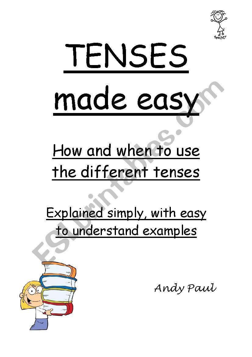 Tenses made easy  worksheet