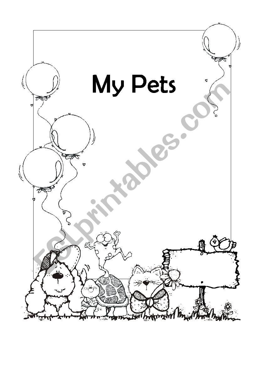 My Pets worksheet