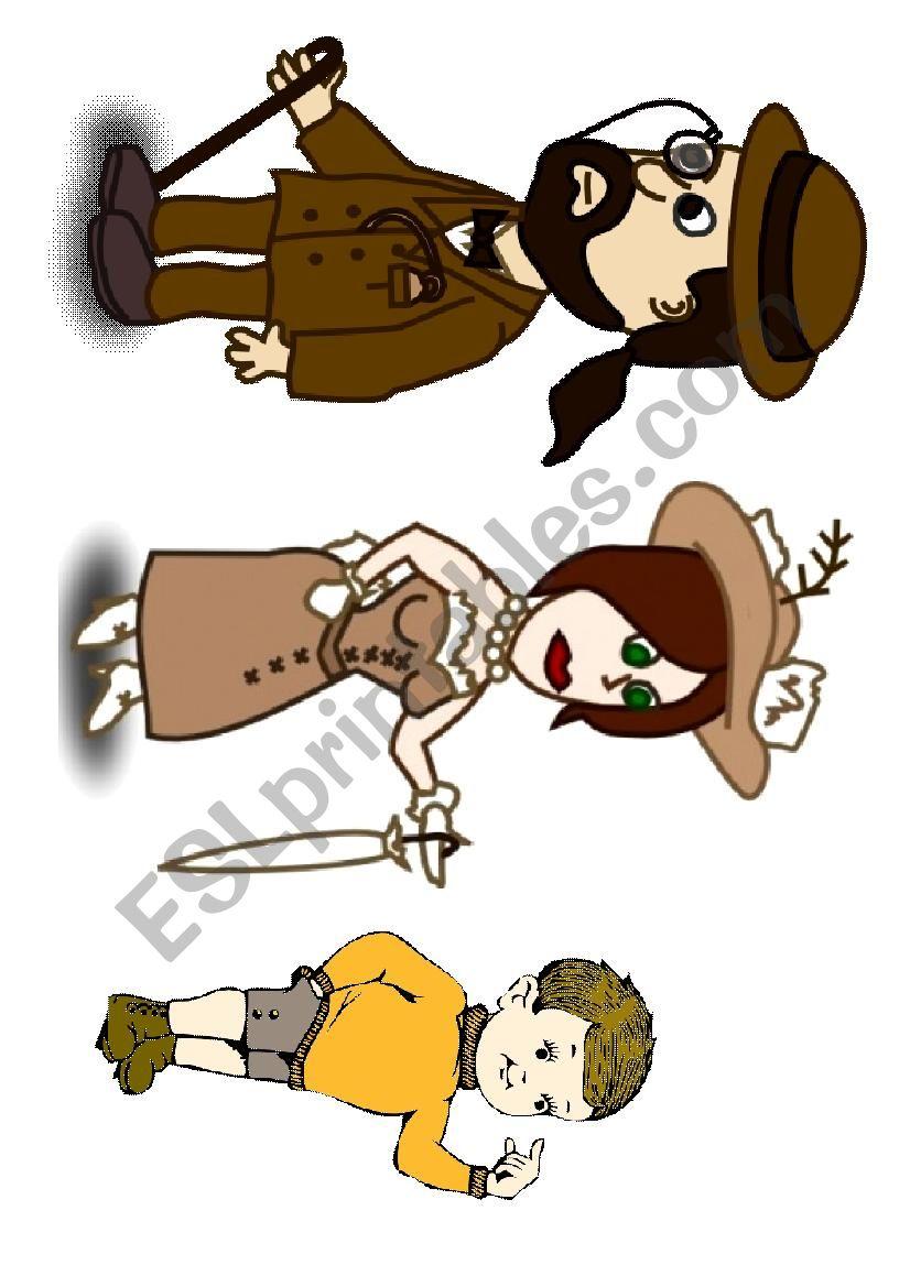 Baa baa black sheep characters printable