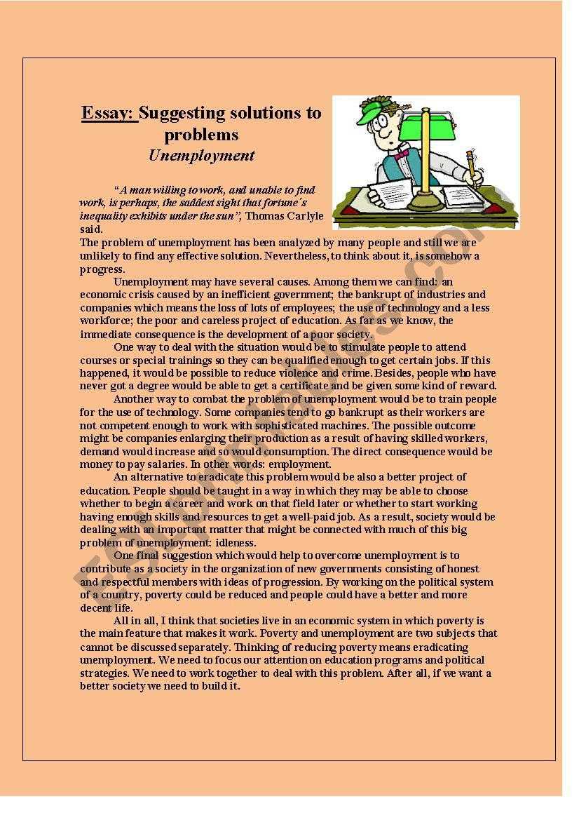 Essay suggesting solutions to a family laundromat business plan pdf