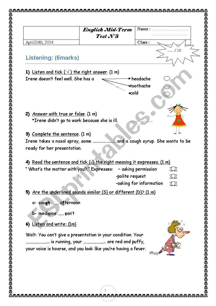 third_midterm_test_n3 worksheet