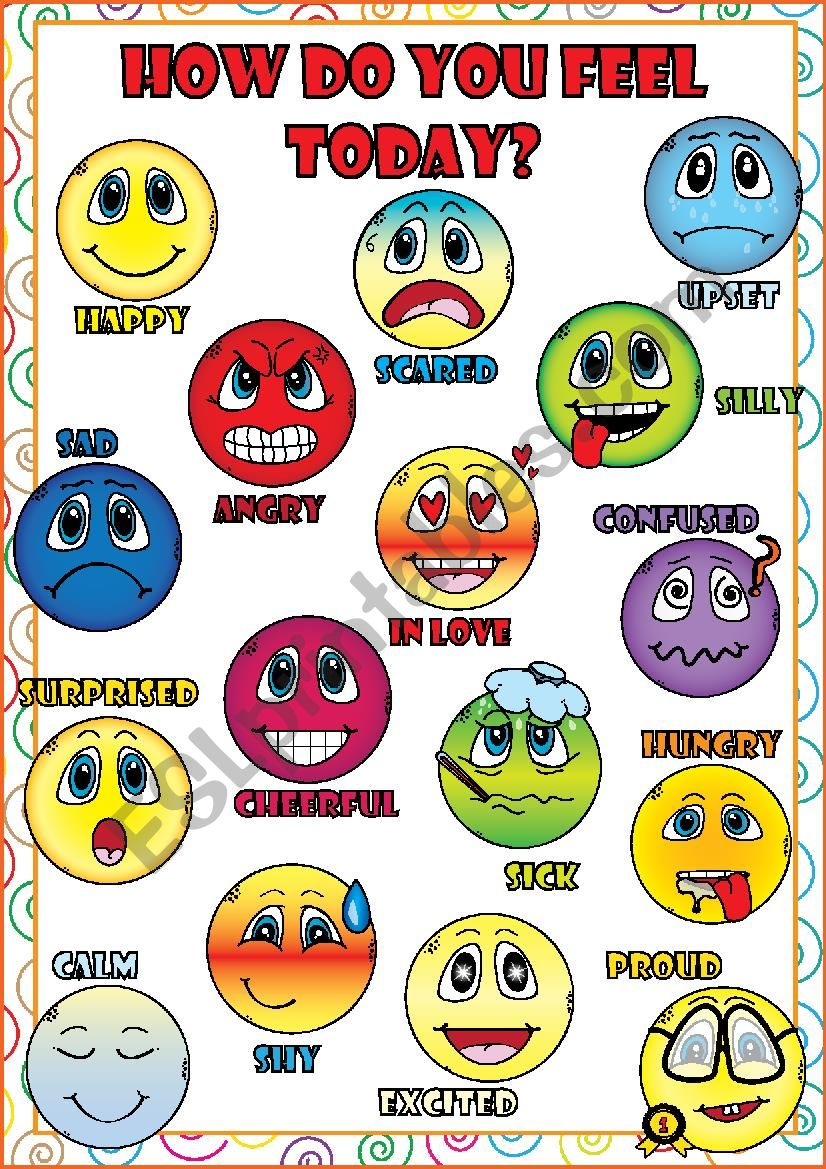 Feelings and Emotions - POSTER