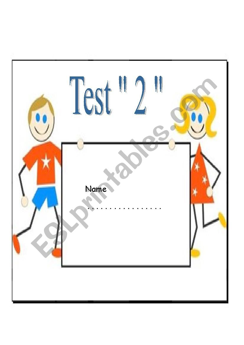 Test for beginners worksheet