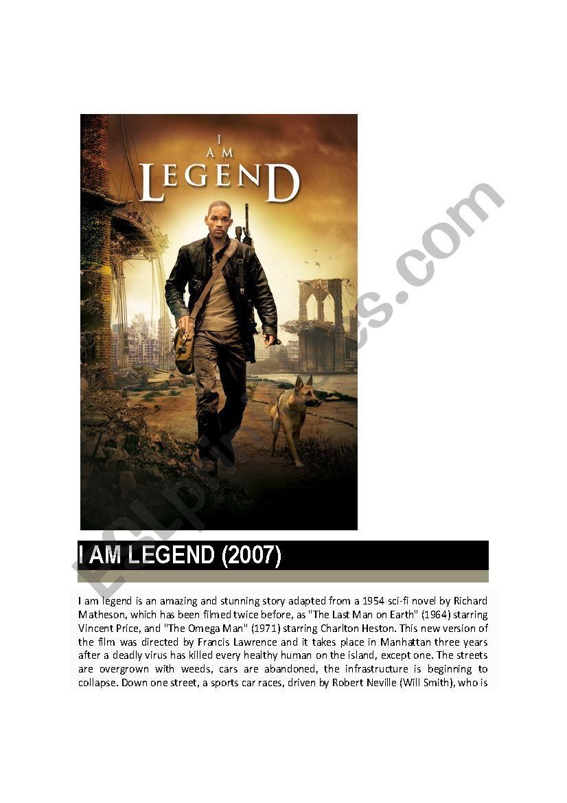 i am legend film review