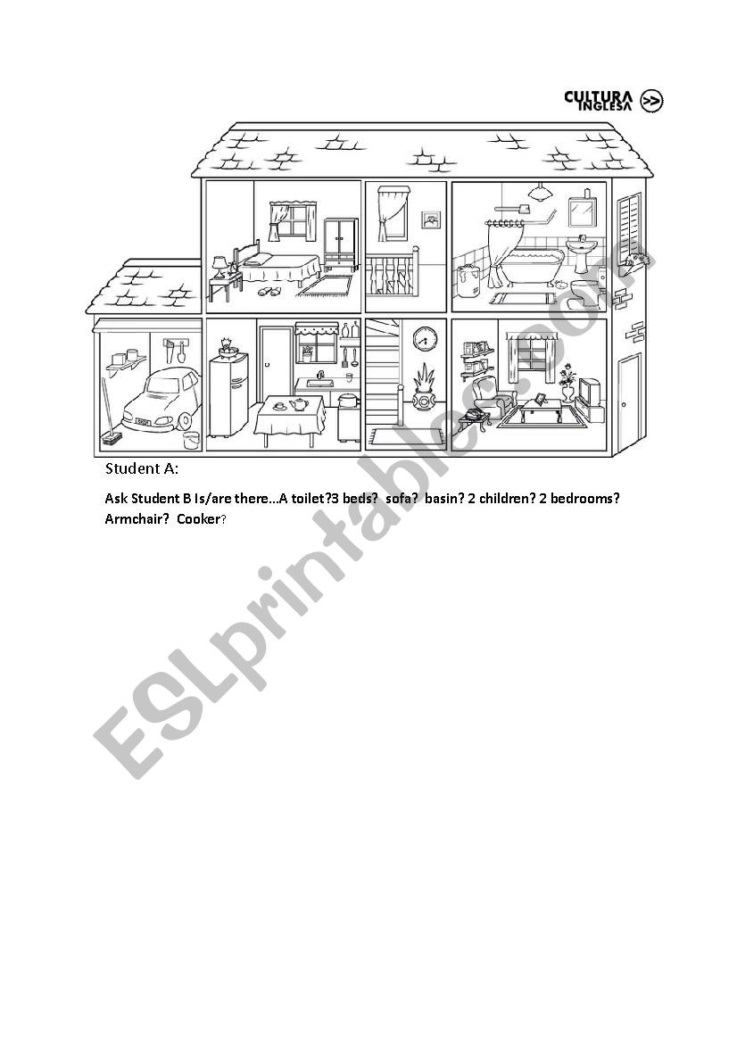 There to be speaking houses worksheet