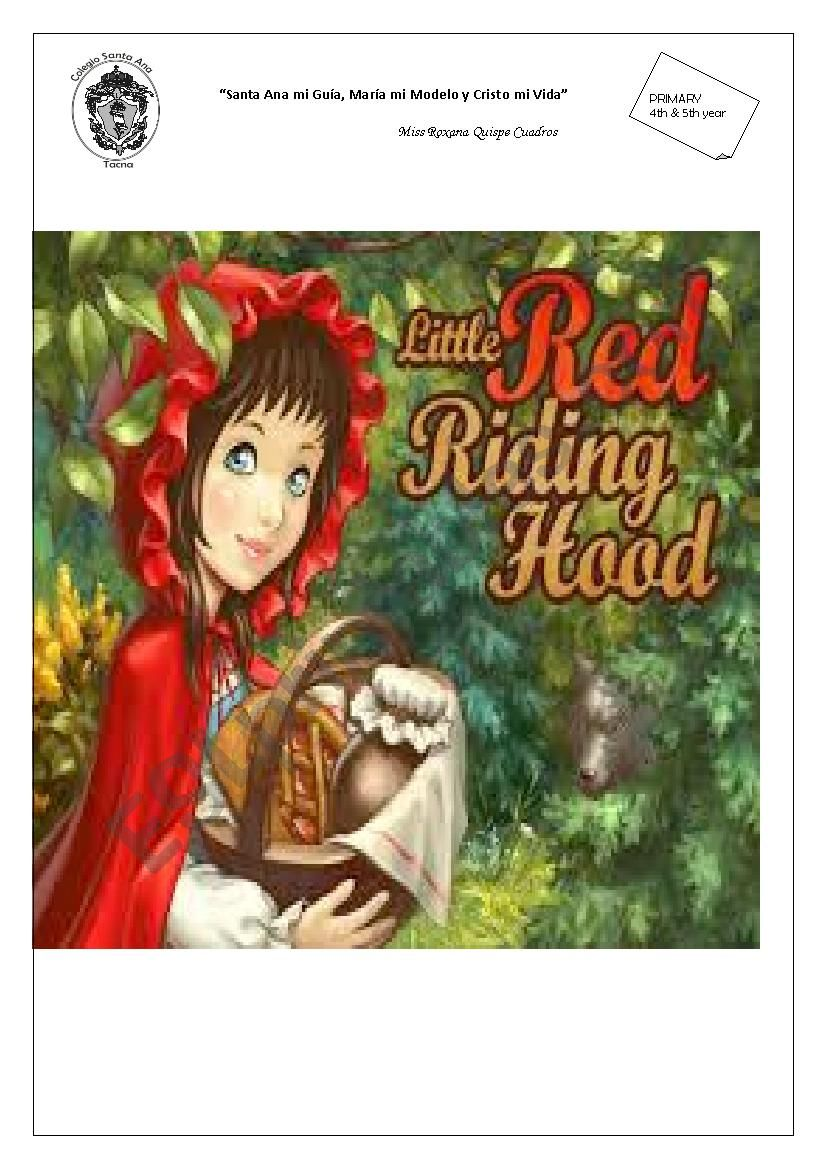 Little Red Riding Hood (easy to perform) for school students