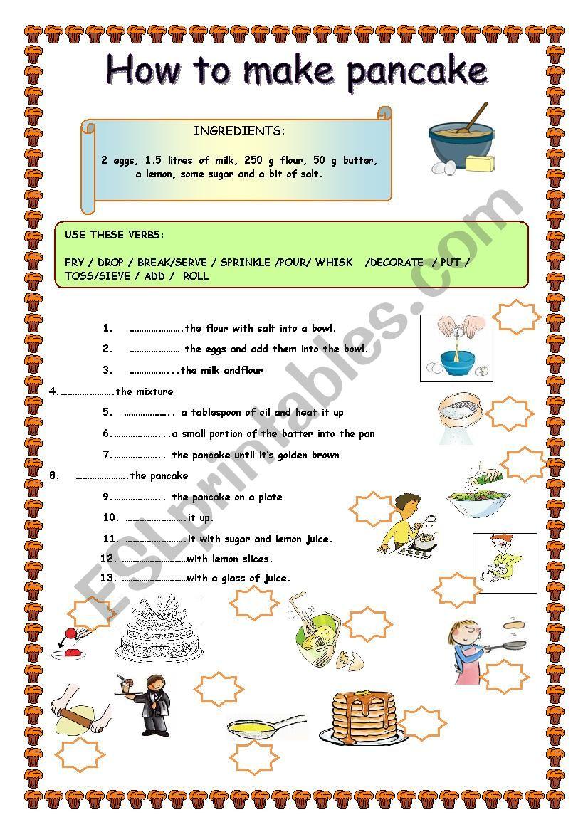 pancake recipe/ how to make a pancake