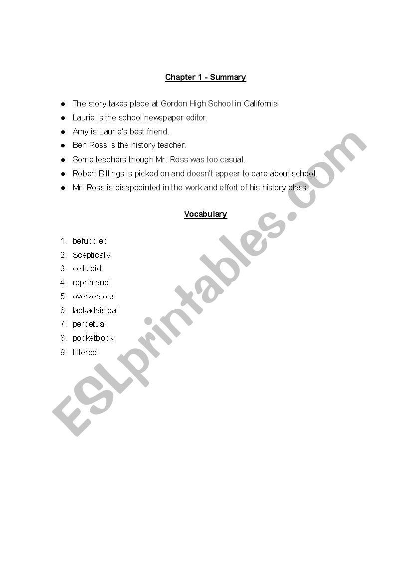 The Wave - ESL worksheet by EA YRHS