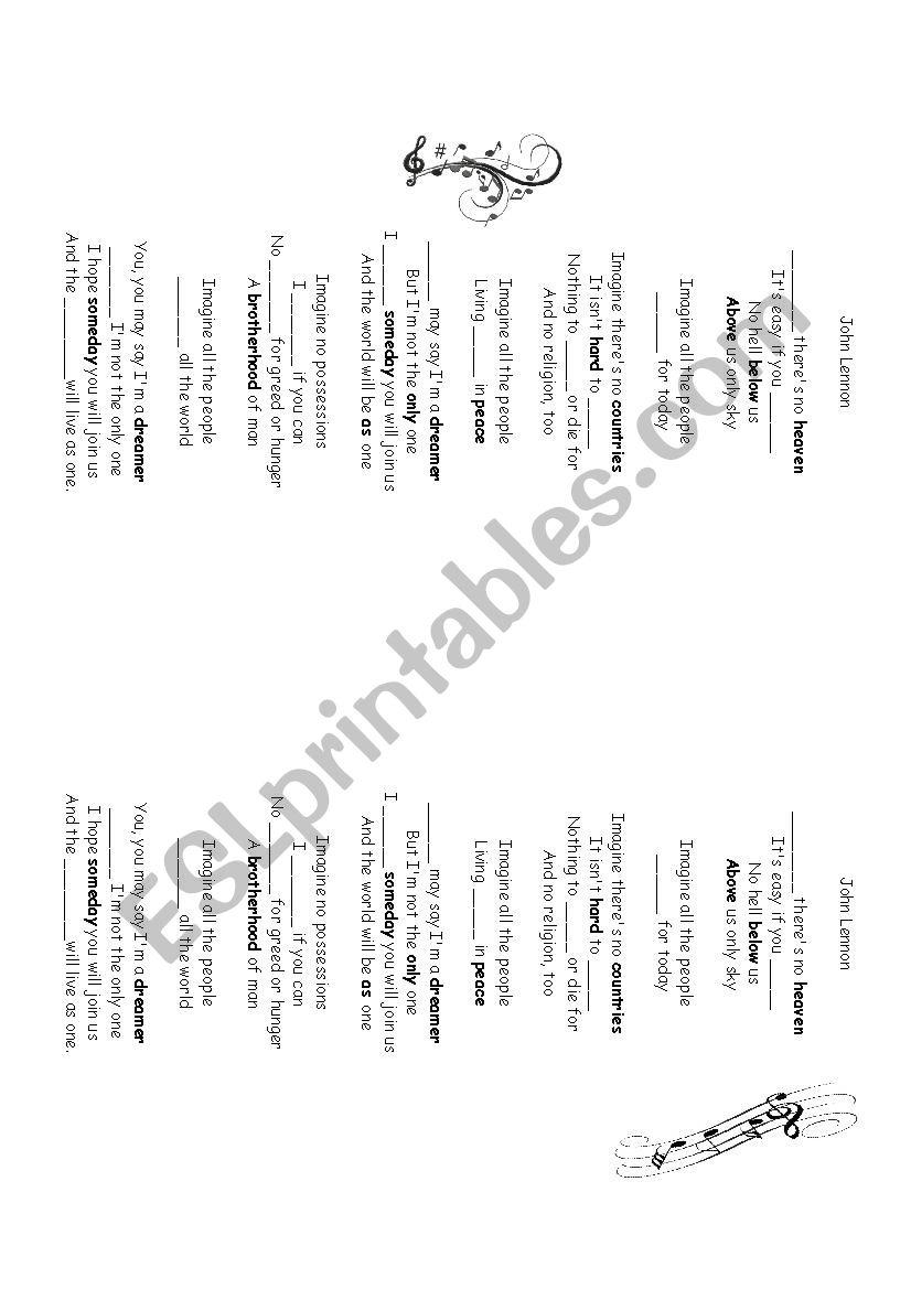 World Peace - ESL worksheet by melendi