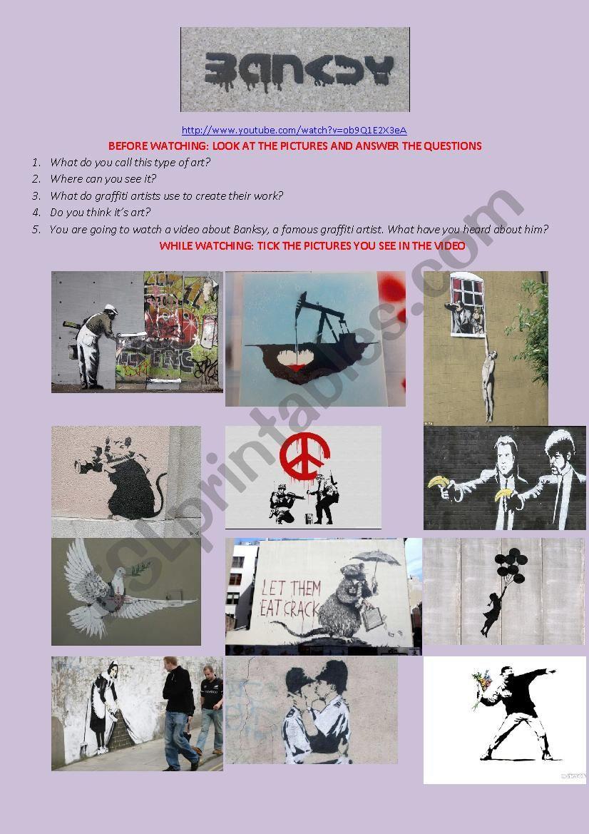 Banksy: Art or Vandalism? Video