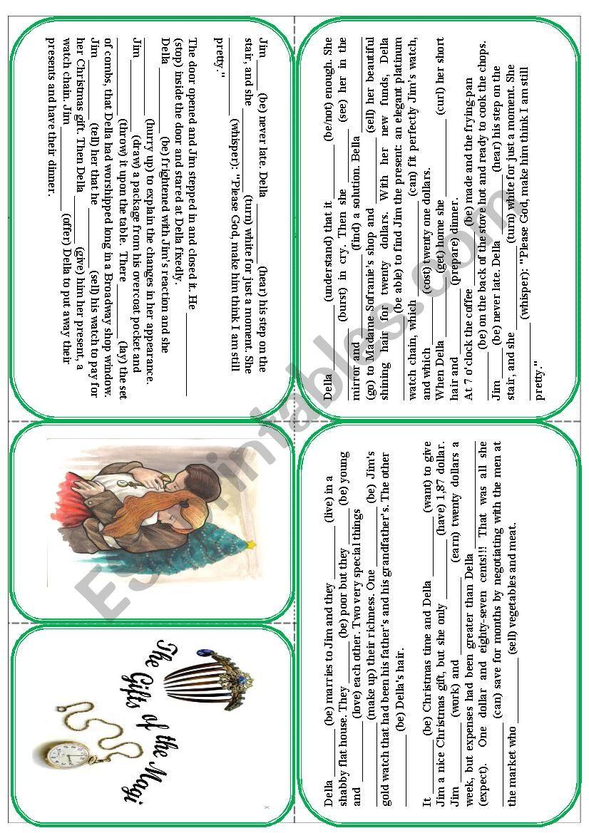 O´Henri - The gifts of the Magi. Christmas story mini book