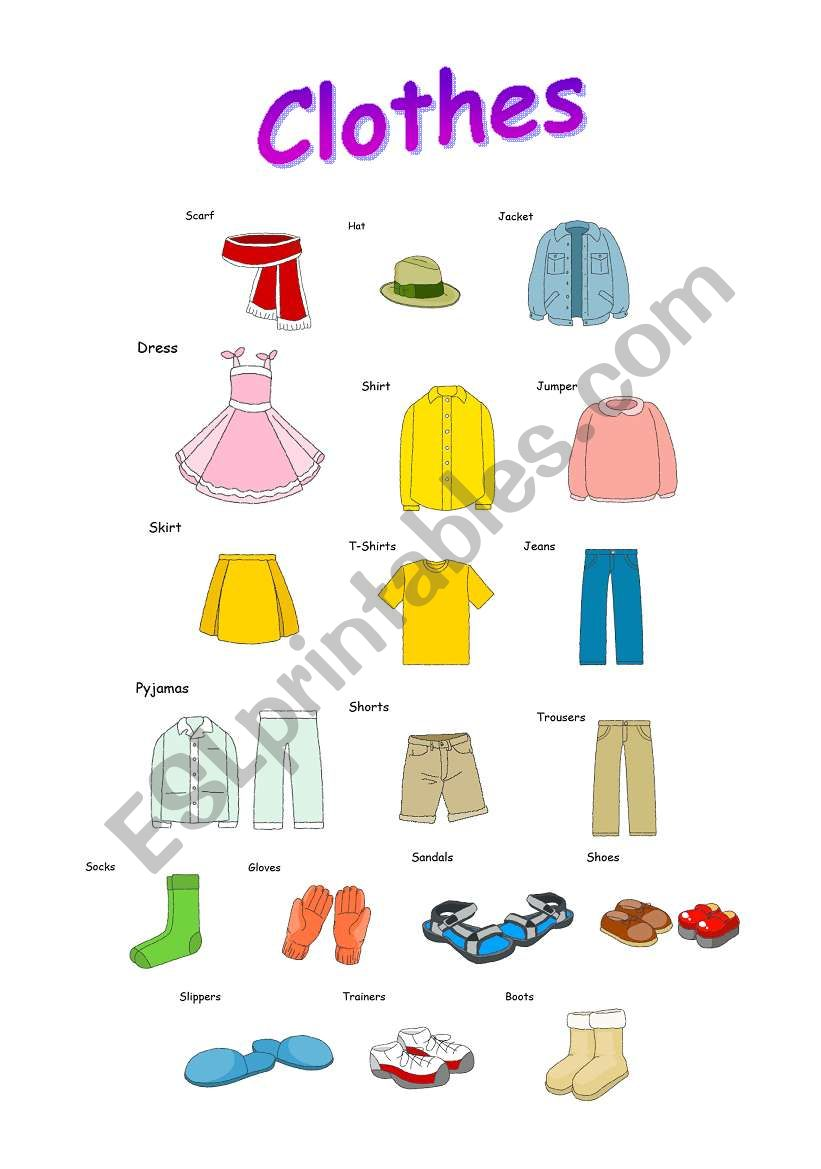 my article about clothing From casual and comfy clothing to elegant and dressy, every article of clothing has a purpose and a place within your closet and your life with infinite outfit.