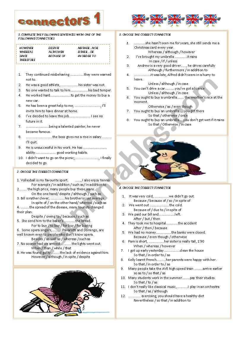 Connectors  . B1.Key worksheet