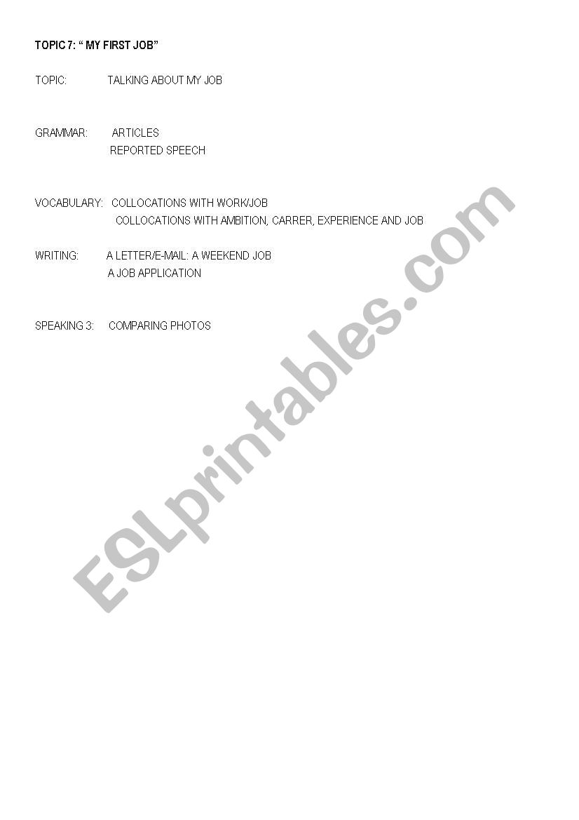 B2 first certificate worksheet