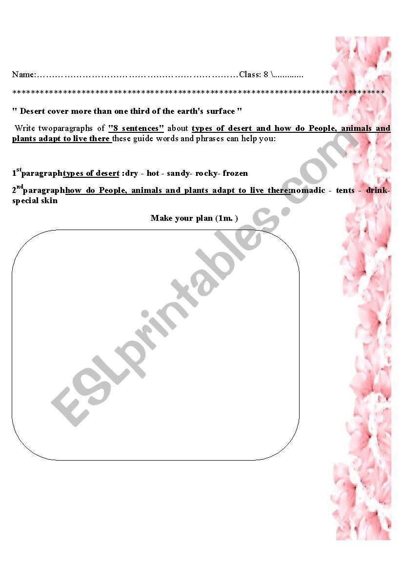Language Ex worksheet