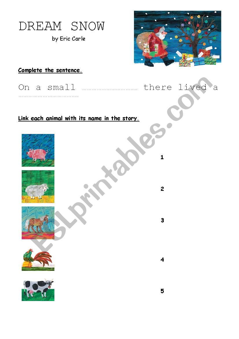 ESL Worksheet By Flolijules