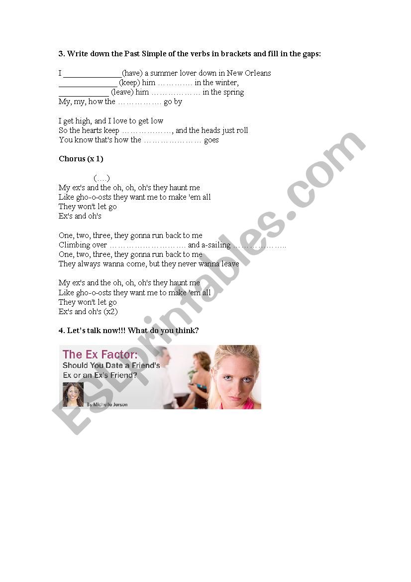 Worksheet And By King Song Oh´s Ellen Ex´s Esl Nereidac K1JFcl