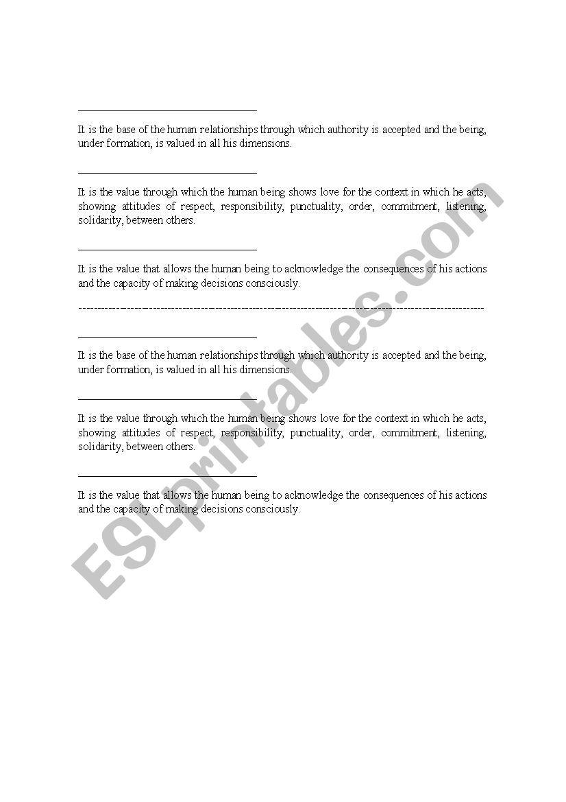 ETHICS LESSON PLAN - ESL worksheet by alexander1074