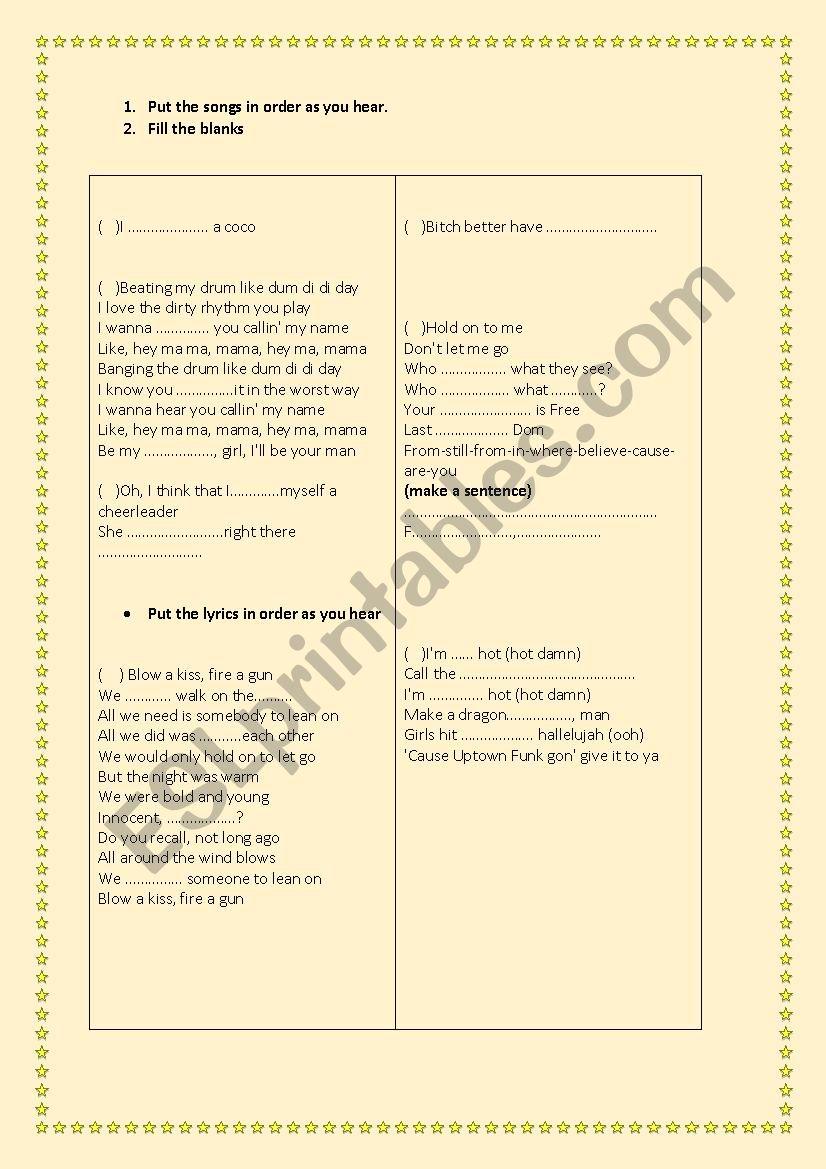 lej-summer 2015 - ESL worksheet by ozlemoguz