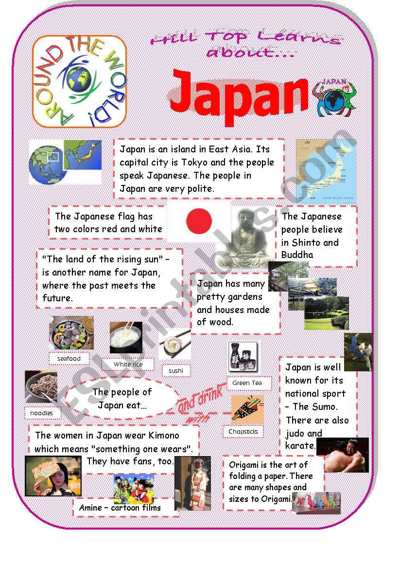 Japan - an introduction to the country and culture - ESL ...