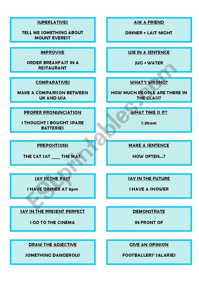 Elementary Consolidation worksheet
