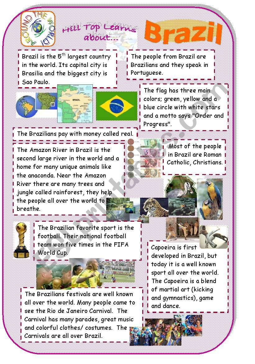 Brazil - introduction to country and culture