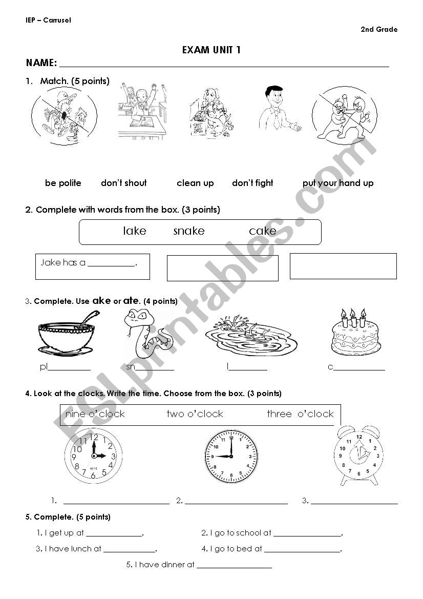 CLASSROOM INSTRUCTIONS - ESL worksheet by pamela25