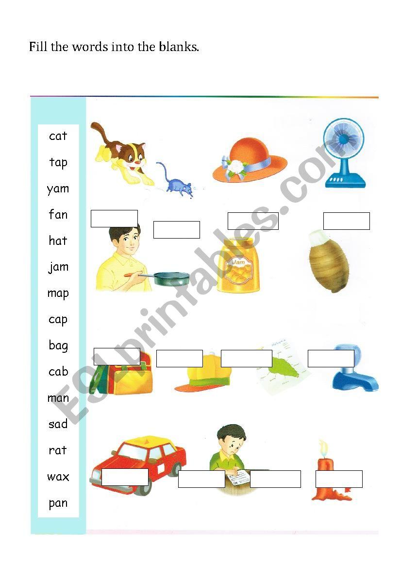 a short vowel sound worksheet