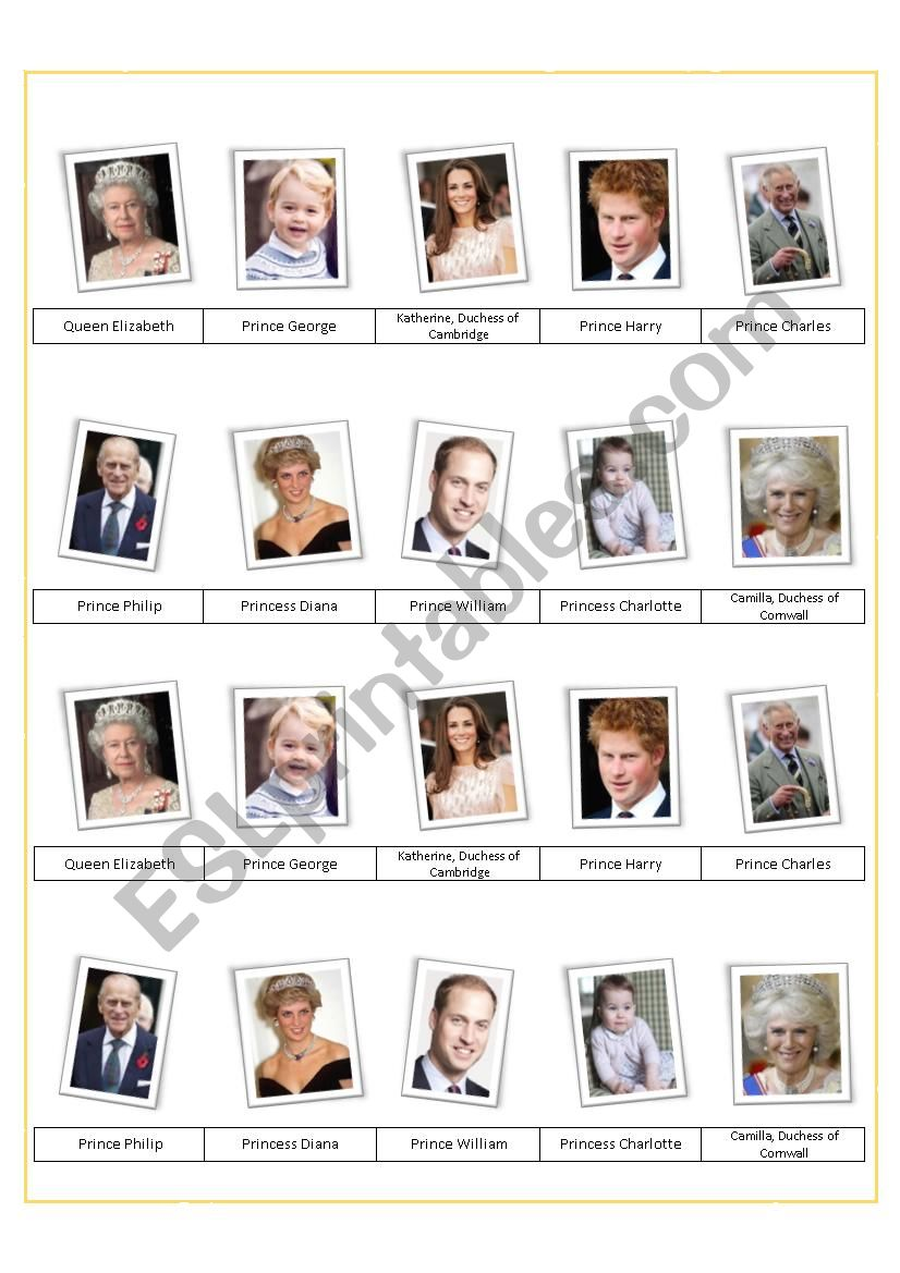 The British Royal Family (Part 3)