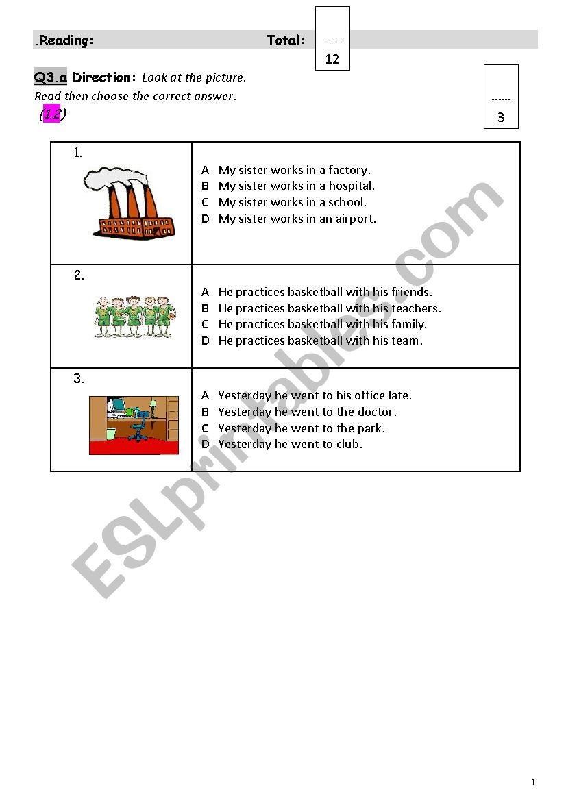 moreover esl reading and writing worksheets likewise esl reading and writing worksheets likewise Reading  prehension Worksheets Writing And likewise ESl Reading and Writing Exam   ESL worksheet by Radwa audi besides Esl Reading And Writing Worksheets Reading And Writing Reading And also  as well  as well Nelly the Nurse   Reading  prehension worksheet   Free ESL additionally esl beginning reading  prehension worksheets moreover ESL Christmas Activities Games Worksheets likewise Activity Worksheet Worksheets Math Reading Writing Languages further  further Idioms Worksheets For All Download And Share Worksheetworks Diamond additionally Free ESL eBooks   Printable Worksheets additionally Reading And Writing  prehension Worksheets Revise Your Esl Grade. on esl reading and writing worksheets