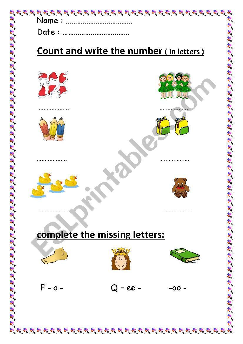 worksheet for beginners  worksheet