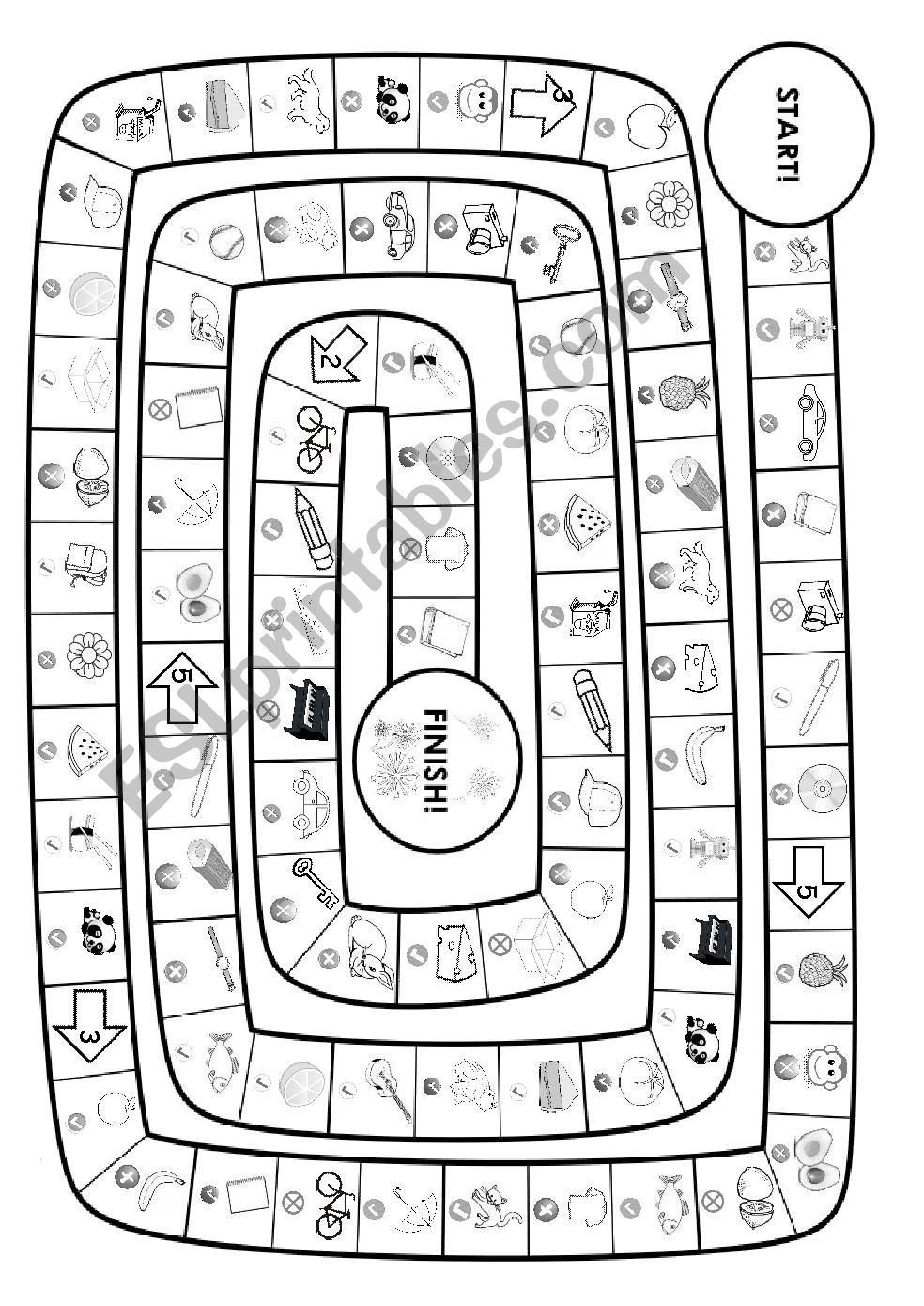 Is this your ~ ?  Board game worksheet