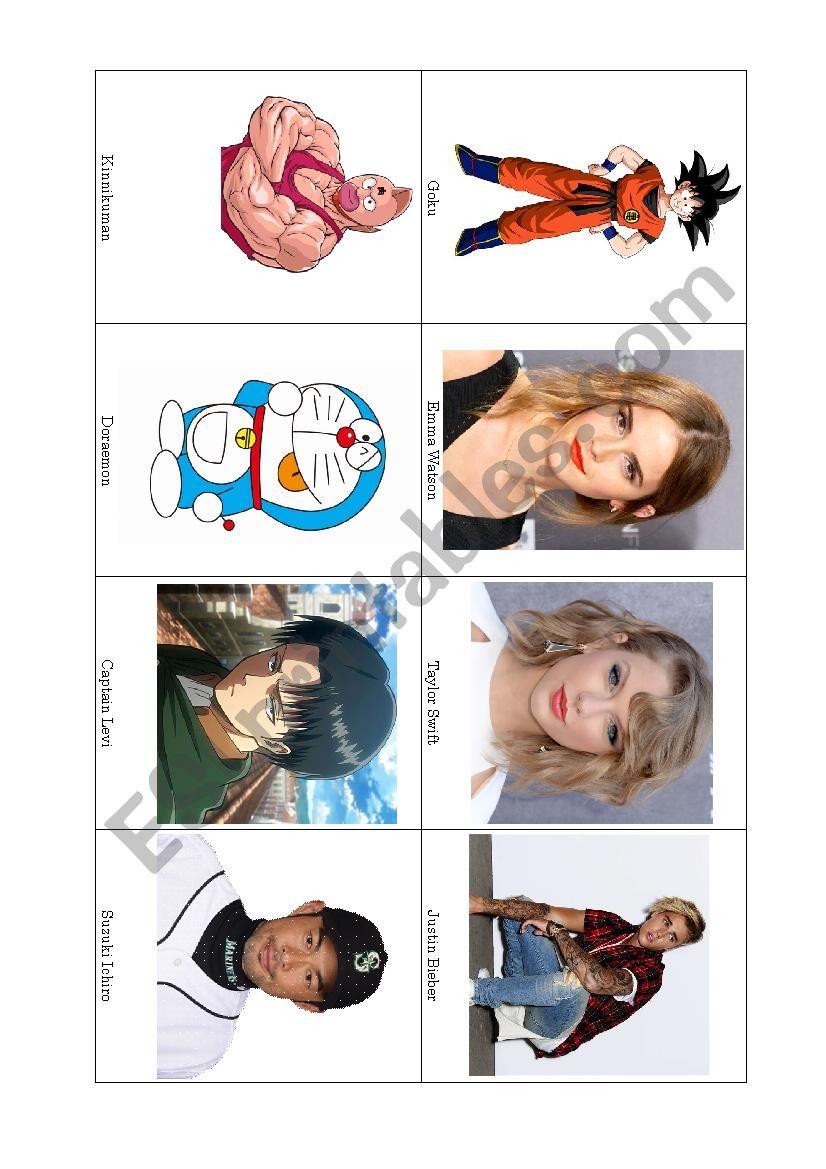 Who Am I (Part 2) worksheet