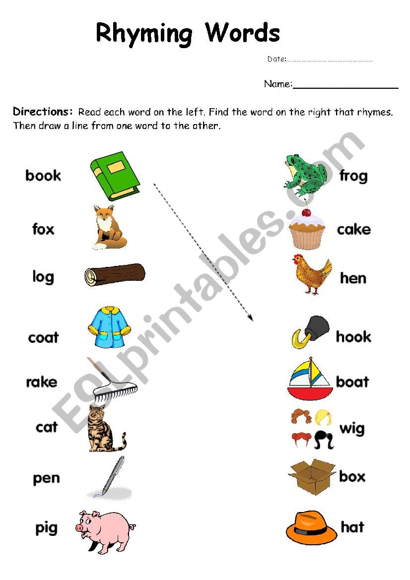 Nursery Rhymes Worksheets Free Printables