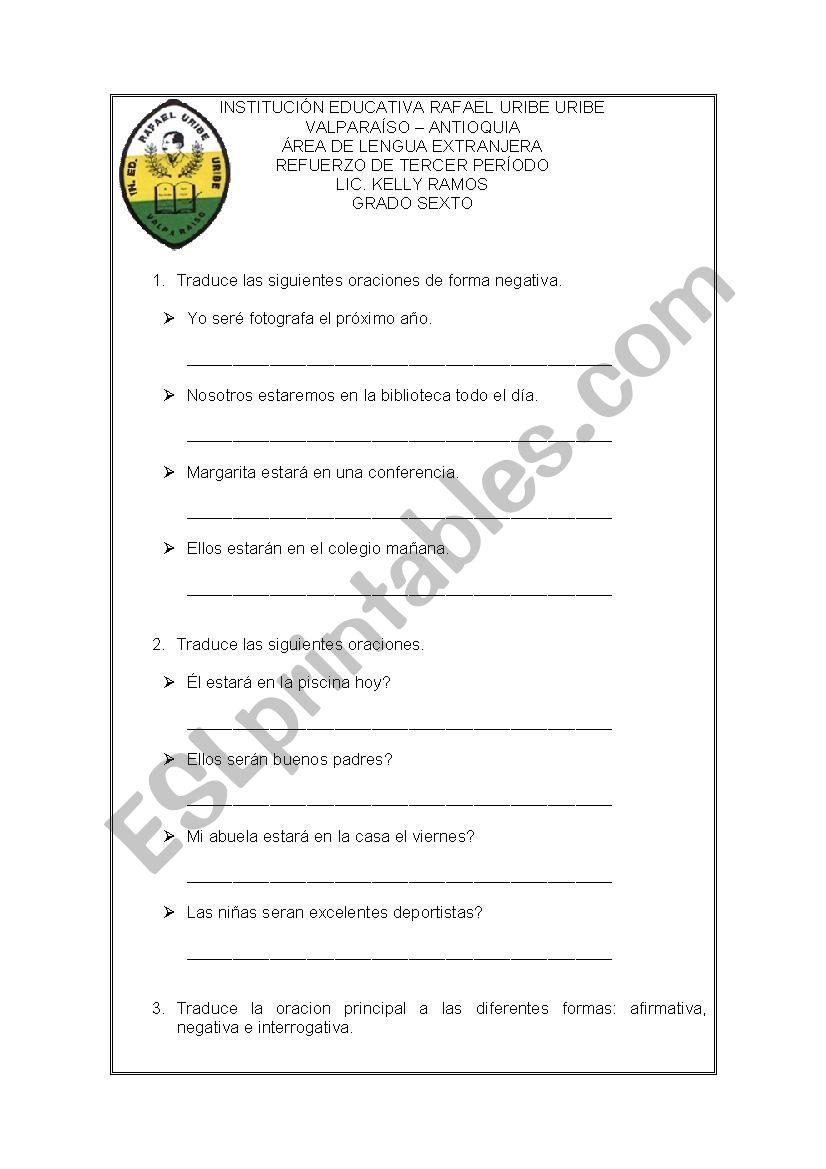 EXAMEN worksheet