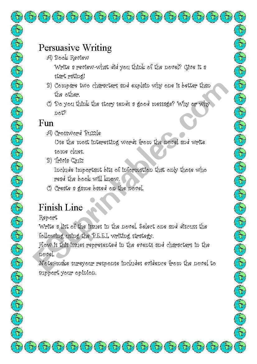 Boy Overboard - ESL worksheet by Misika
