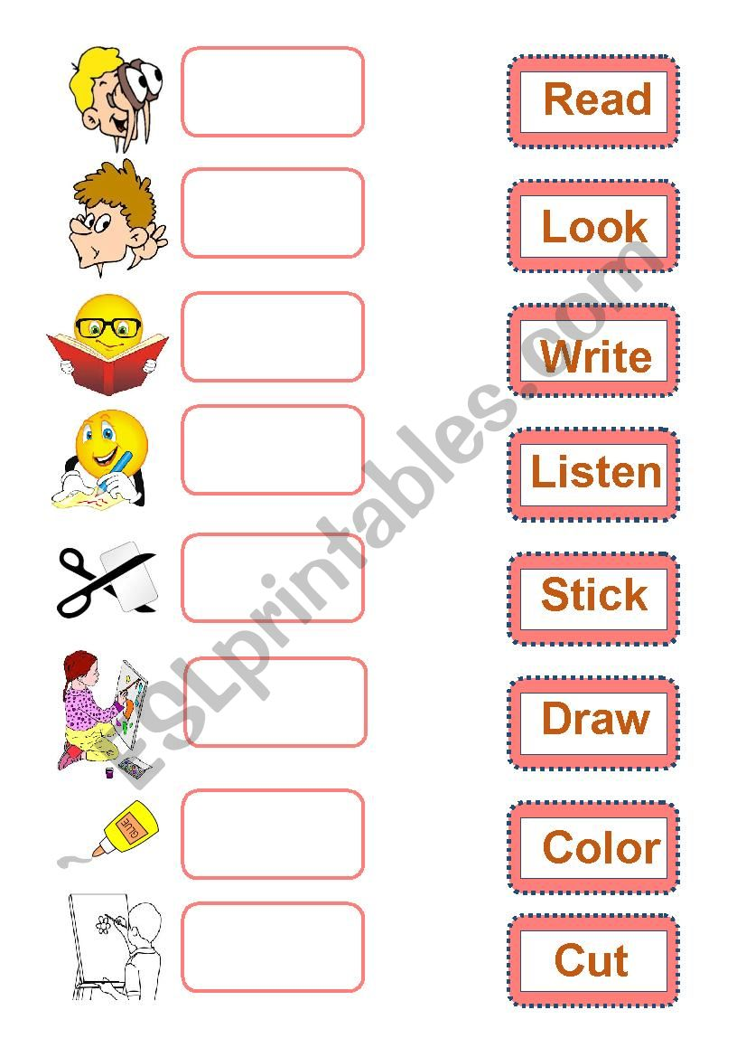 Classroom Instructions worksheet