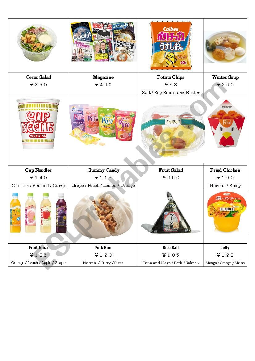 Shopping At The Japanese Convenience Store (Part 2)