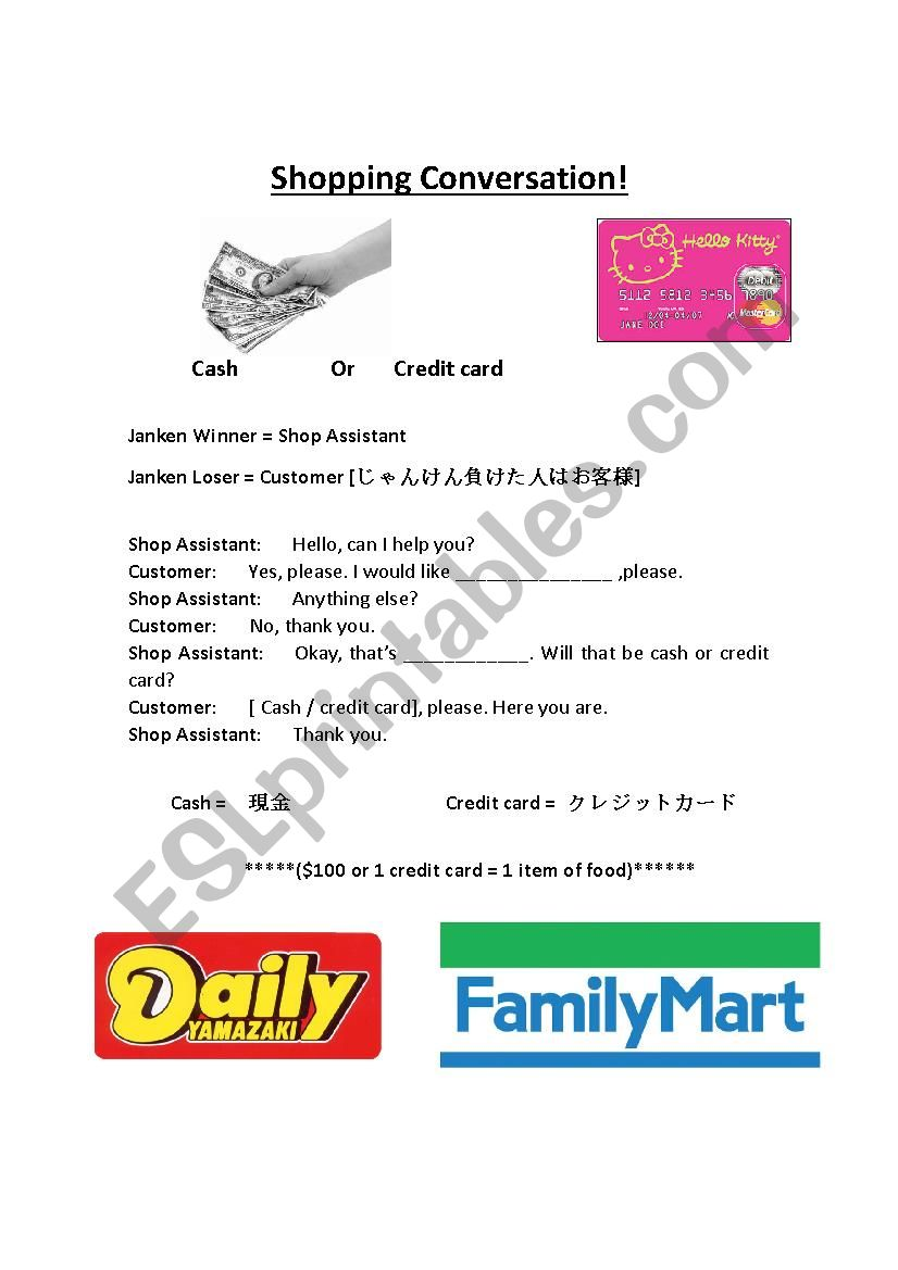 Shopping At The Japanese Convenience Store (Part 3)