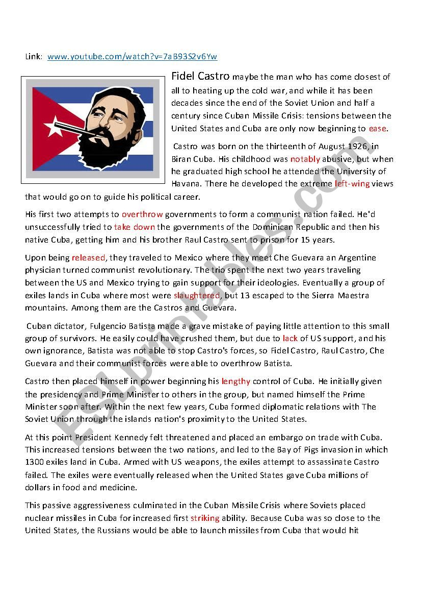 Fidel Castro Biography Documentary